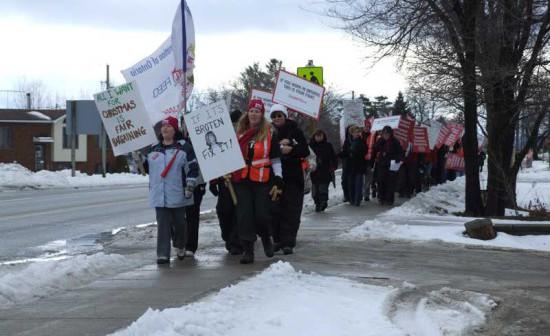 Teachers-strikers