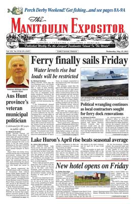 Manitoulin Expositor - May 15 Digital Edition