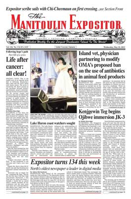 Manitoulin Expositor - May 22 Digital Edition