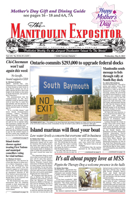 Manitoulin Expositor 1yr - Digital Edition Only