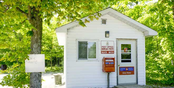 Also under threat the Silver Water post office was saved from closure last fall.