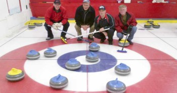 The Bob Caddel curling rink notched a very rare eight-ender in a game held during the annual Providence Bay Men's curling bonspiel. His rink included vice Jack White, second Angus MacDonald and lead Fred Johns.