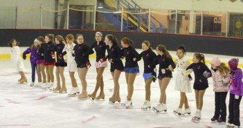 The CanSkate program shows the circuits they do to learn their skating skills during the Skate Canada Manitoulin Winter Canrival held last month in Manitowaning.