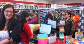The new Your Dollar Store With More was packed with customers during opening day earlier this month.