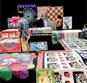 A selection of works by the Island Quilters Guild will also be on display during the fall show.