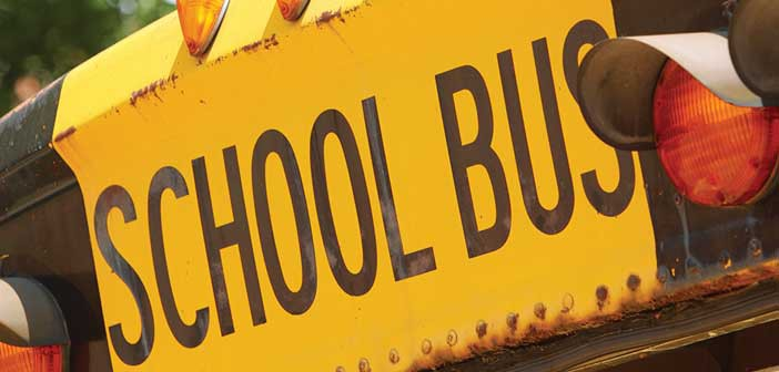 School buses back in action with precious cargo on board