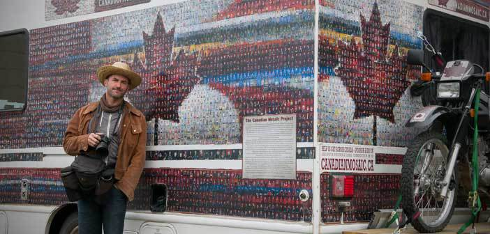 Canadian mosaic project visits Manitoulin