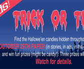 Look for Hallowe'en candies, colouring options inside the October 29 Expositor