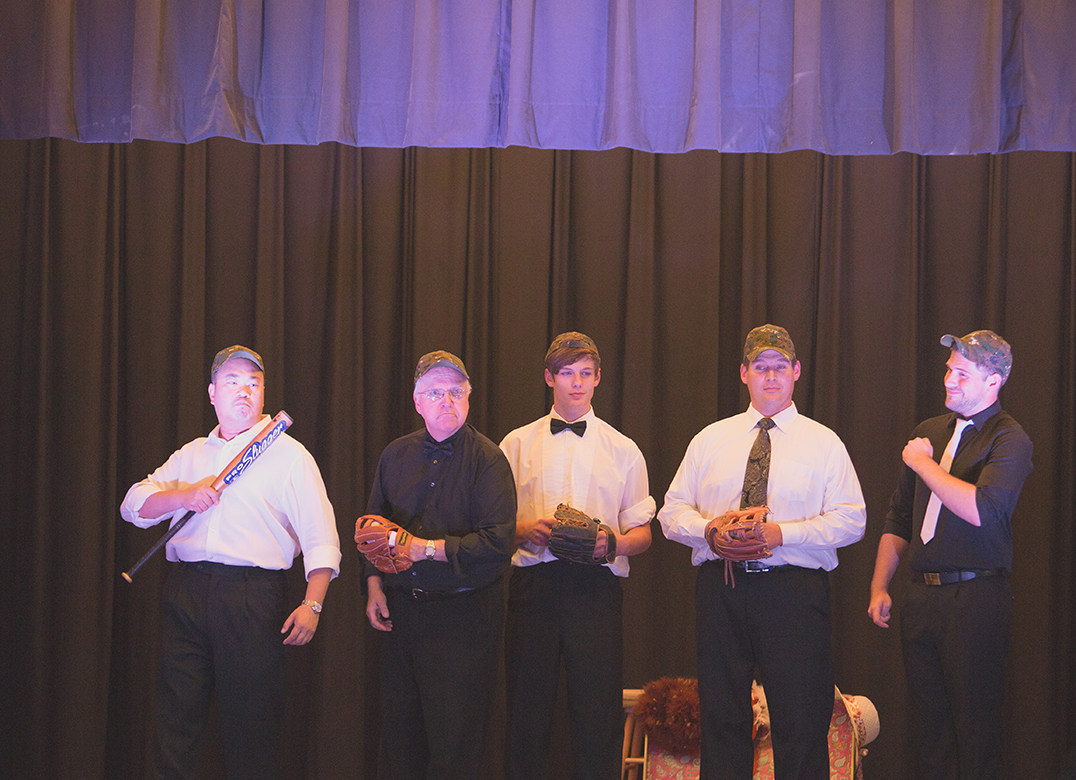 You Gotta Have Heart' from Damn Yankees as performed by the gentlemen of the assemble.