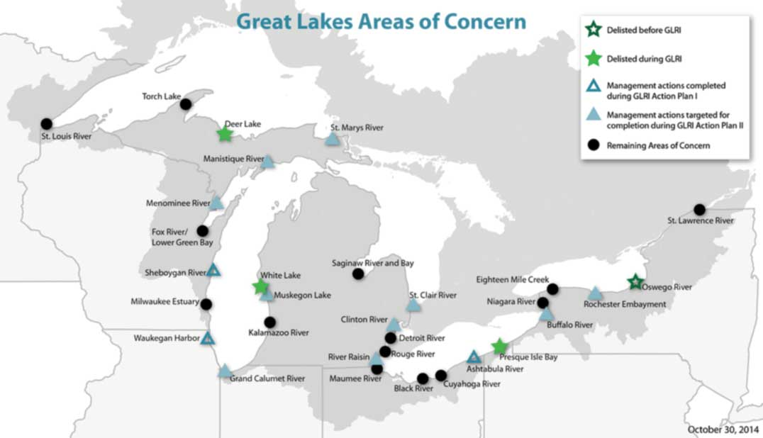 Michigan's Congressional delegation working together to save funding for Great Lakes