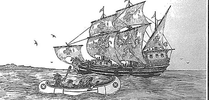 """Legendarny wrak """"Le Griffon"""" z 1679r. w końcu odnaleziony ..."""