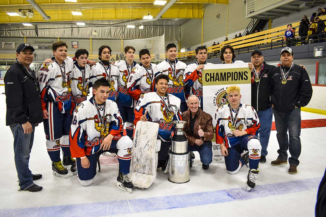 Island Teams Fare Well At Little Nhl Win Two A Division Championships