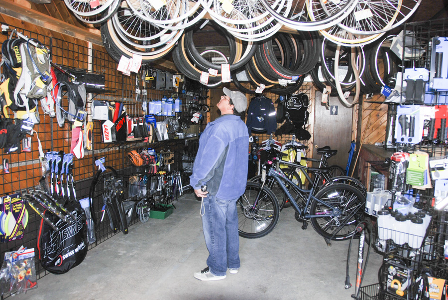Lightfoot Bikes, Manitoulin's full service bike shop, offers repairs and new and used bicycles.