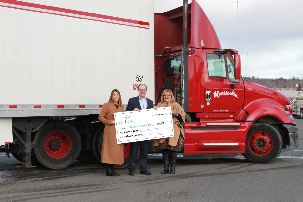 Manitoulin Transport Delivers 50 000 Reasons To Make Neo