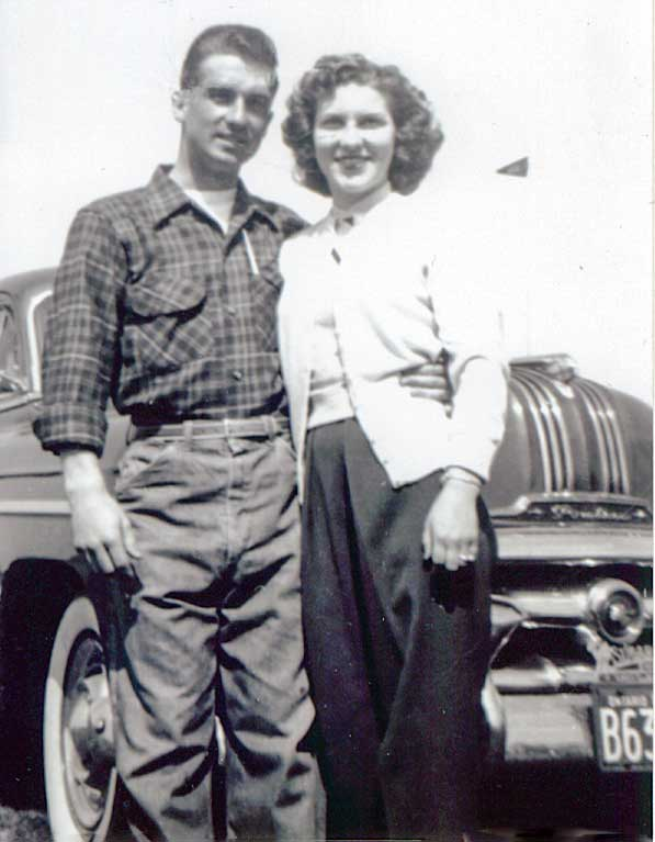 Floyd and Lila in the mid 1950s