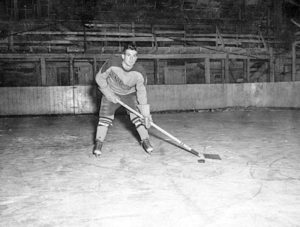 Floyd in the old arena circa 1950