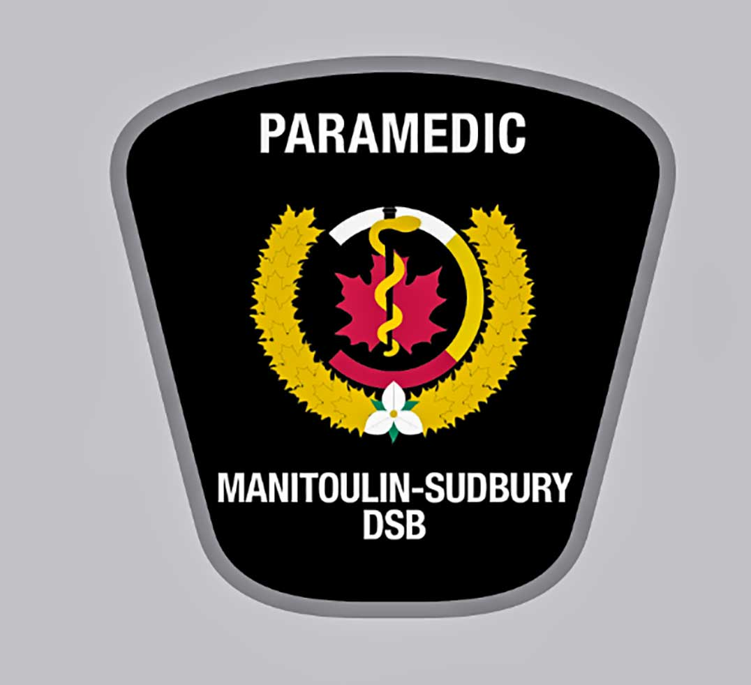 New paramedic crest meets dsb approval the new paramedic crest for the manitoulin sudbury ems service contains several iconic local symbols including the correct greek medical symbol buycottarizona Gallery