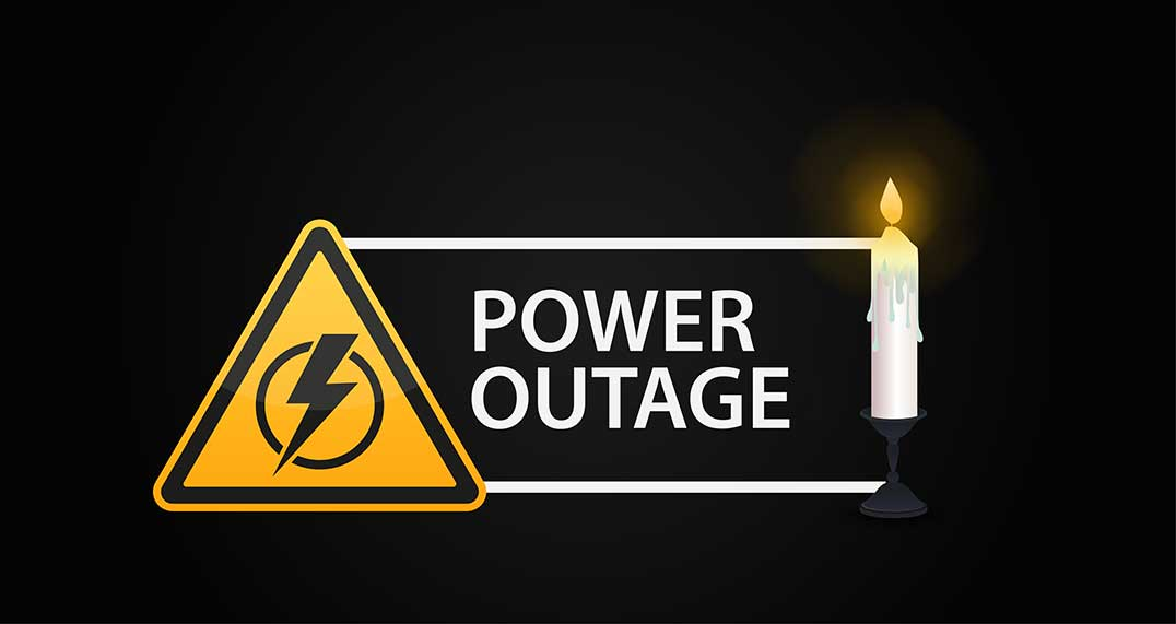 Planned power outage for Sunday, November 3