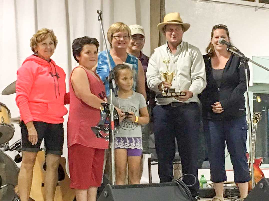 The Scott Clan were the winners of the 2016 Family Fun Trophy. photo courtesy of Facebook
