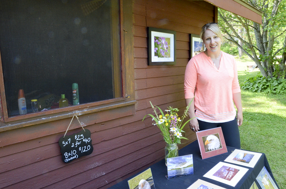 "Photographer Riann Willoughby was exhibiting in the festival for the first time. ""So far so good,"" she said of the sales."