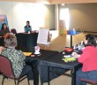 Island professionals weigh in at Cambrian College strategic plan focus group. photo by Robin Burridge