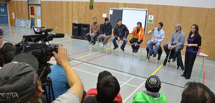 Wikwemikong career fair provides a blueprint for the future tradespeople share their experiences with wikwemikong students and community members during the wikwemikong high school annual career fair malvernweather Images