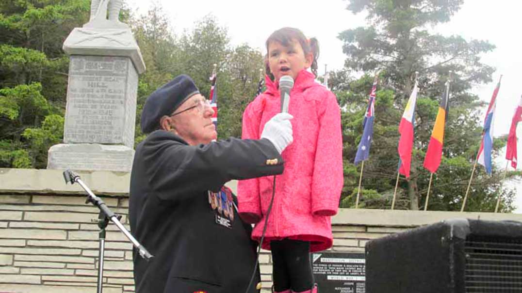 Annual Decoration Day Ceremonies Celebrated At Manitoulin District