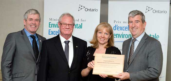 Manitoulin Streams receives prestigious environmental award from the province