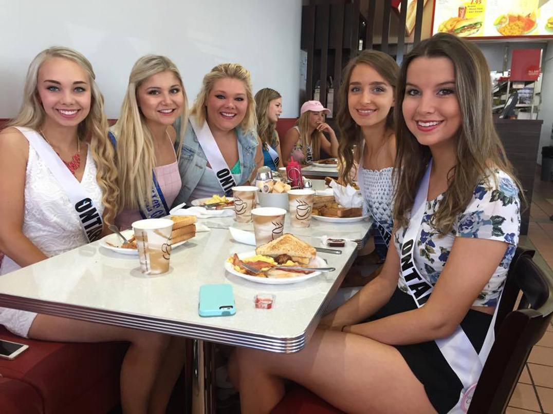 Canadian teenagee girls wellinton
