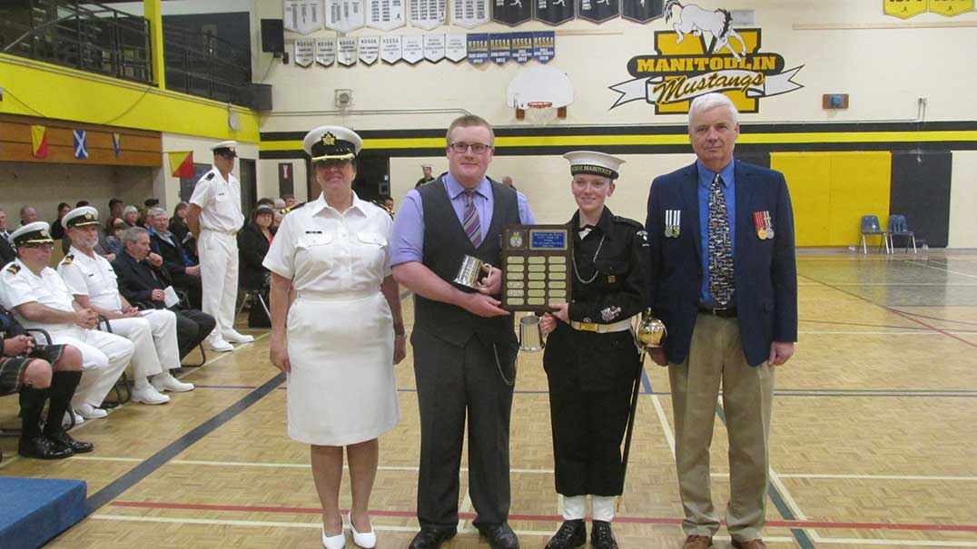 Manitoulin Sea Cadets hold 15th annual review ceremonies