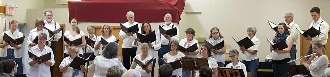 The Manitoulin Community Choir. Photo: Sharon Jackson
